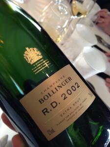 Bollinger R.D. Millésime 2002