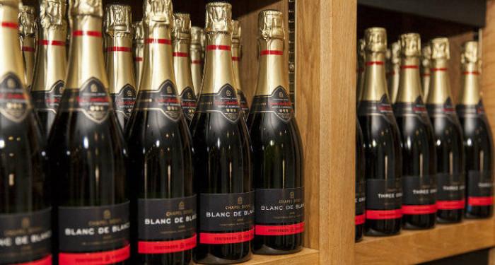 Le Blanc de Blancs 2010,100 % chardonnay de Chapel Down