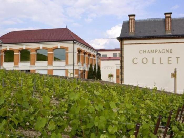 Champagne Collet de la Cogevi à Aÿ