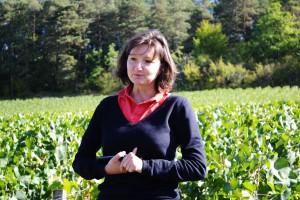 Sandrine Girardot la présidente du Champagne Chassenay d'Arce