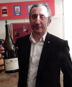 Bernard Bouvier, président de l'appellation Marsannay