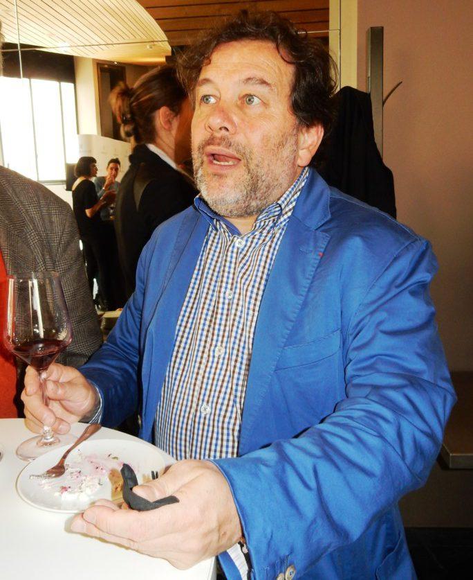 Michel Chapoutier à Paris à la Maison de la Mutualité (avril 2016) Photo FC