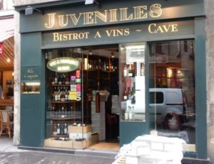 Le restaurant Le Juvéniles, 47 rue Richelieu 75001