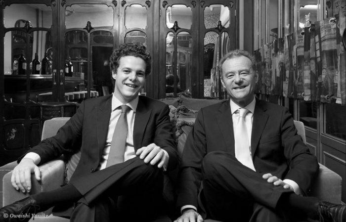 Thibault et Paul Pontallier, père et fils