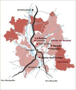 Cairanne (entre Rasteau et Plan-de-Dieu), nouveau cru des Côtes du Rhône