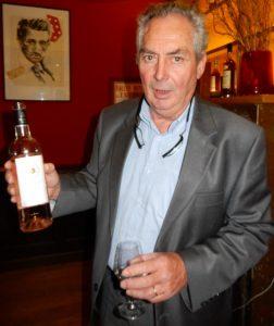 Xavier de Volontat, 64 ans, président de l'AOC Corbières