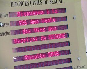 Hospices de Beaune 2016 (vente des Hospices de Beaune 2016)