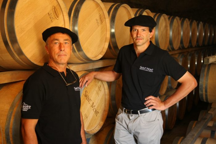 Les vignerons de Saint Mont