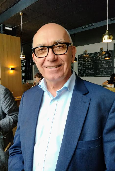 Alain Brumont, l'homme qui a relancé le Madiran, est devenu une star mondiale. Il est propriétaire des châteaux Bouscassé et Montus. Ici à Paris en juin 2017 (Photo FC)