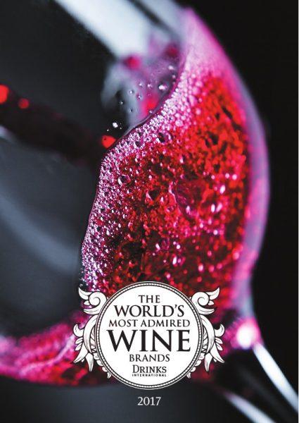 Top 50 des marques de vins 2017 les plus admirées au monde