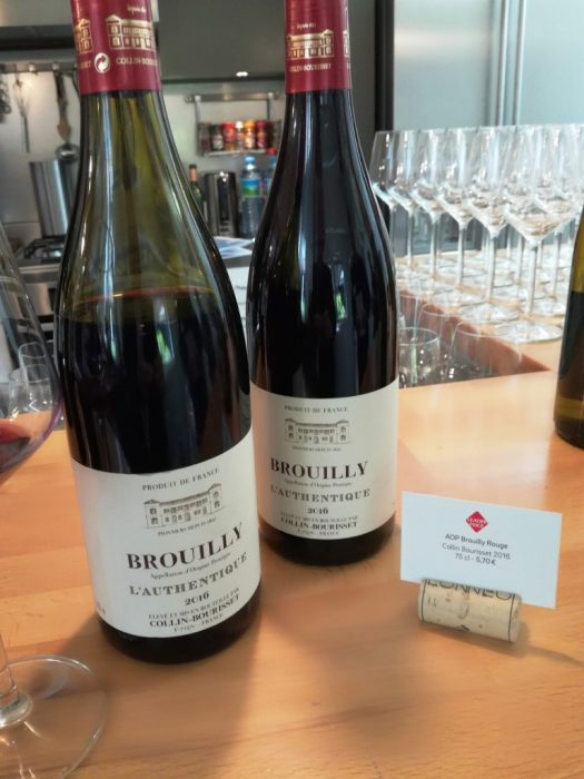Leader Price Brouilly l'Authentique 2016