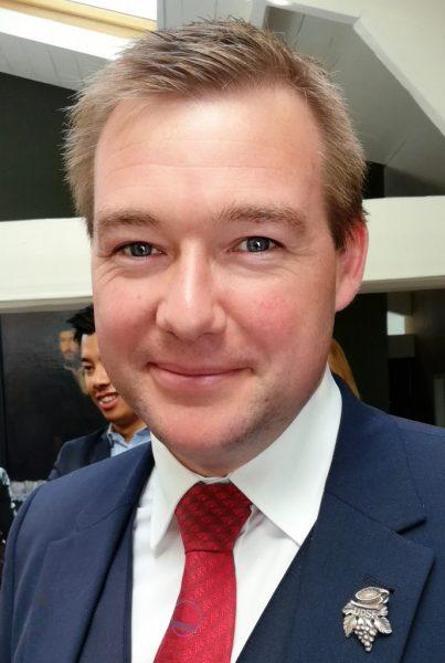 Leader Price, foire aux vins septembre 2017, Gaëtan Bouvier à la manoeuvre
