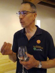 Alain Pabiot du Domaine des Fines Caillotes