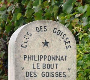 Champagne, les plus grands Clos de Champagne : Clos des Goisses (Philipponnat) à Mareuil-sur-Aÿ