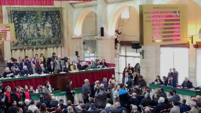 Hospices de Beaune vente aux enchères 2017 (Photo FC)