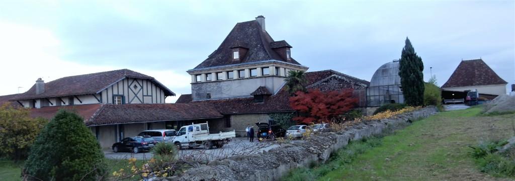 Château Bouscassé est la propriété familiale d'Alain Brumont (Photo FC)