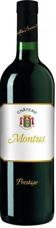 Montus Prestige, premier madiran composé à 100 % tannat est entièrement élevé en barriques de chêne neuf
