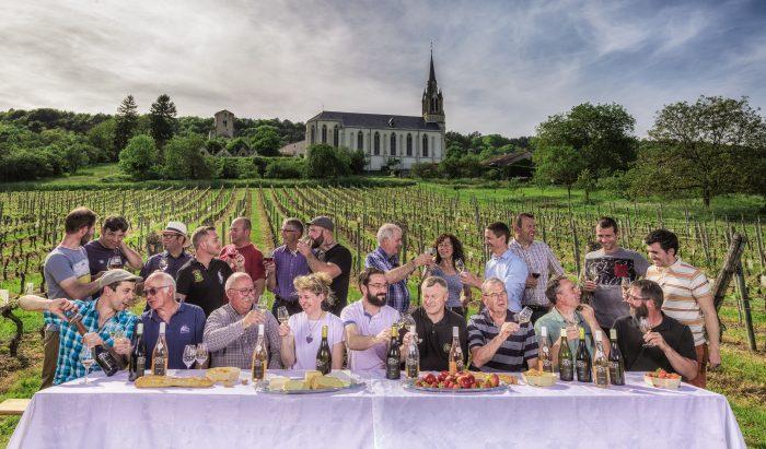 """Pour ses 20 ans, l'AOC Côtes de Toul et ses vignerons se sont mis en """"cène"""""""
