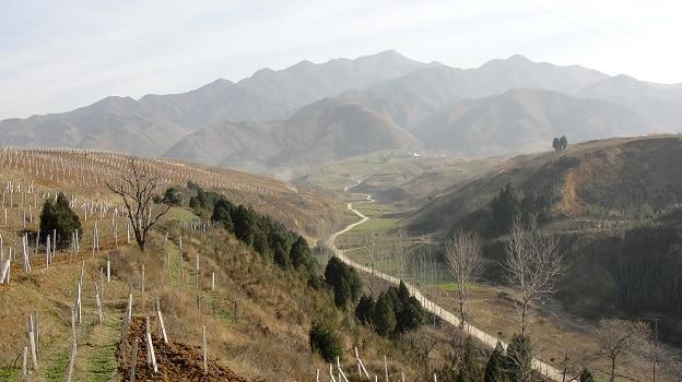 La province du Shanxi (connue pour ses mines de charbon !) située à l'ouest de la montagne Taihang (au nord-ouest de la Chine) borde les provinces de Hebei, Henan, Shaanxi et de la Mongolie intérieure