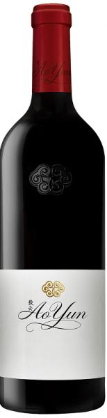 Le Ao Yun (Au-dessus des nuages), vin qui est déjà qualifié de mythique : 90 % de cabernet sauvignon, 10 % de cabernet franc.