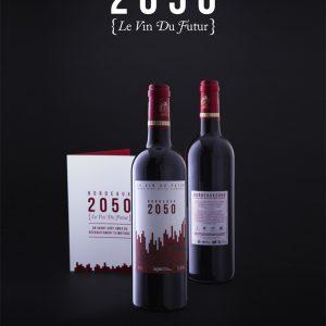 """""""A l'aveugle, j'aurais dit un Languedoc, mais basique"""" en dit Monique Josse de ce Bordeaux, millésime 2050."""
