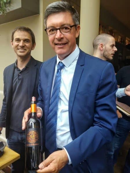 Didier Gontier,directeur du syndicat viticole des Côtes de Bourg. Pour cette Foire aux vins 2018, CDiscount a signé un partenariat avec les Côtes de Bourg (Photo FC)
