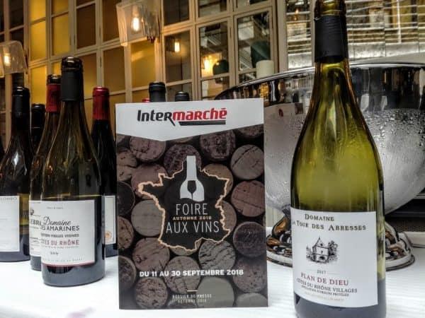Intermarché pour cette foire aux vins 2018, c'est 965 références sélectionnées, 150 coups de cœur, 17 millésimes proposés et des prix allant de 2,20€ à 750€ (Photo FC)