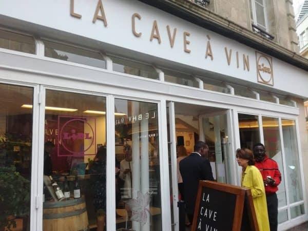 La Cave à Vin LIDL, boutique éphémère, 6 rue des Archives, 75004 à PARIS est ouverte du 5 au 16 septembre 2018, du mardi au dimanche de 10h à 20h (Photo FC)
