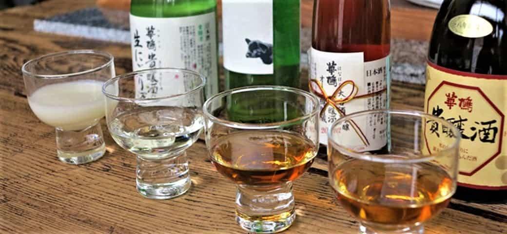 Il existe toute sorte de saké , ici à déguster au bar à saké (sakebar) Koishi, situé au centre-ville de Hiroshima.