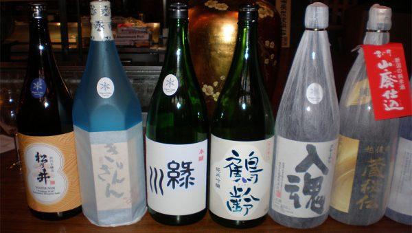 Quelques uns des meilleurs sakés premium et super premium de la préfecture de Niigata