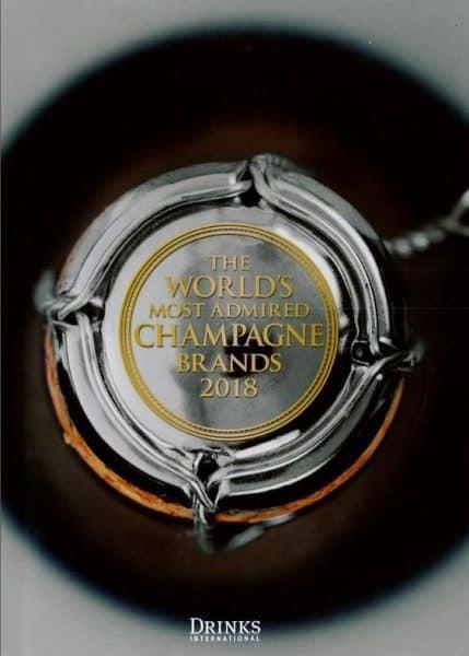 Top 30 des marques de Champagne 2018 les plus admirées au monde