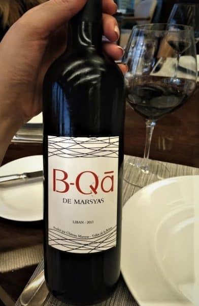 B-Qà de Marsyas est le second vin du Château Marsyas créé en 2007 son premier millésime voit le jour en 2013. B-Qā de Marsyas est composé à 70% de cabernet sauvignon, 20% de syrah et 10% de mourvèdre avec un vieillissement de 8 à 10 mois en fûts français.