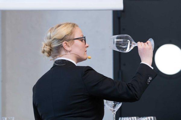 Nina Højgaard Jensen 26 ans, candidate du Danemark et seule femme sommelière à concourir (Photo DR)