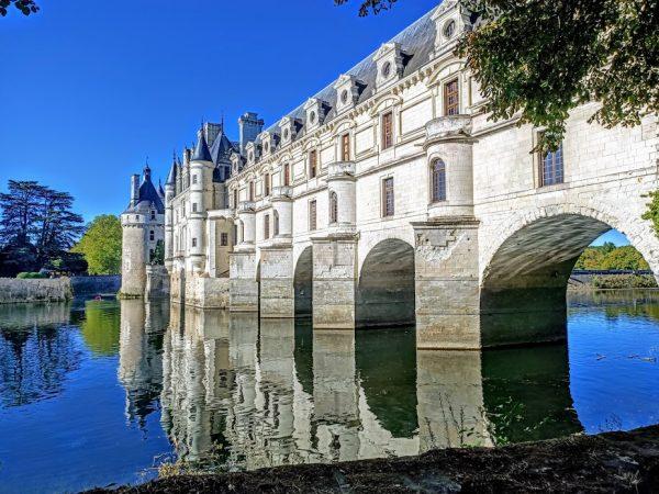 Chenonceau, un château dans les vignes (Vallée de la Loire)